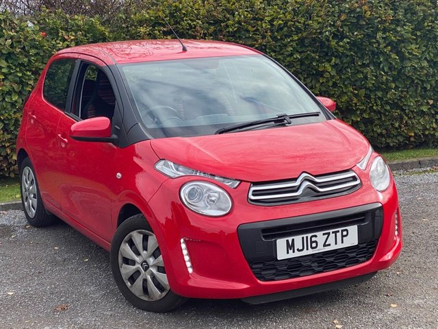 USED 2016 16 CITROEN C1 1.0 FEEL 5d 68 BHP LOW MILEAGE AND BLUETOOTH CONNECTION