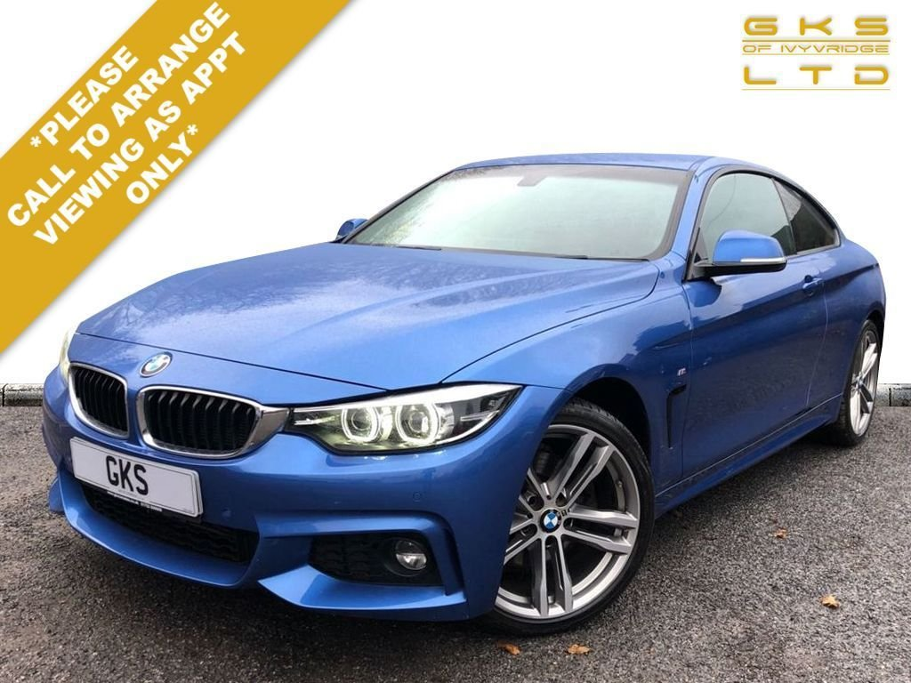 USED 2017 17 BMW 4 SERIES 3.0 430D M SPORT 2d 255 BHP ** NATIONWIDE DELIVERY AVAILABLE **