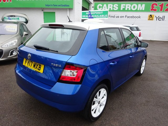 USED 2017 17 SKODA FABIA 1.2 COLOUR EDITION TSI 5d 89 BHP **CLICK AND COLLECT ON YOUR NEXT CAR**