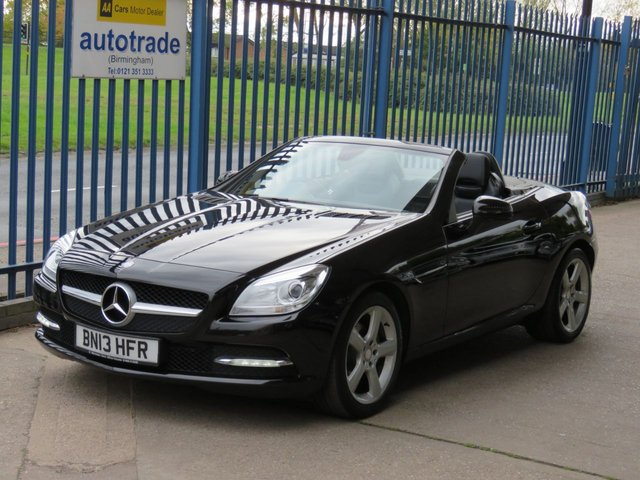 USED 2013 13 MERCEDES-BENZ SLK 1.8 SLK200 BLUEEFFICIENCY 2d 184 BHP Low Miles convertible with History