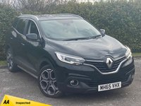 USED 2016 65 RENAULT KADJAR 1.5 DYNAMIQUE S NAV DCI 5d 110 BHP * 1 OWNER * 1/2 LEATHER INTERIOR * 12 MONTHS FREE AA MEMBERSHIP * 128 POINT AA INSPECTED *