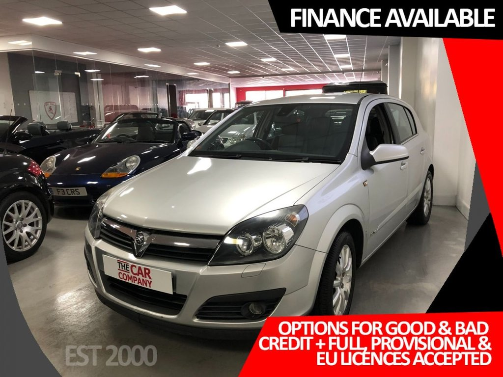 USED 2006 56 VAUXHALL ASTRA 1.8 ELITE 16V 5d 125 BHP * LEATHER * AUTOMATIC * MOT SEPT 2021 * LOW MILEAGE * 14 MAIN DEALER SERVICE STAMPS *