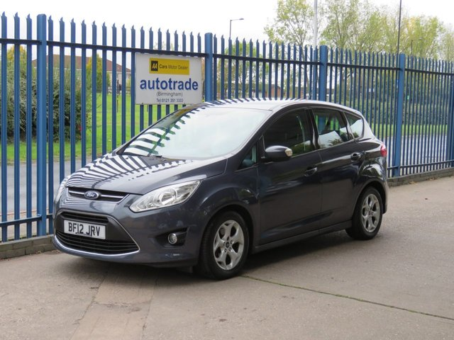 USED 2012 12 FORD C-MAX 1.6 ZETEC 5d 104 BHP Low Miles with History