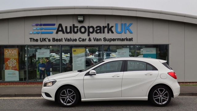 USED 2014 14 MERCEDES-BENZ A-CLASS 1.6 A200 BLUEEFFICIENCY SPORT 5d 156 BHP . LOW DEPOSIT OR NO DEPOSIT FINANCE AVAILABLE . COMES USABILITY INSPECTED WITH 30 DAYS USABILITY WARRANTY + LOW COST 12 MONTHS USABILITY WARRANTY AVAILABLE FOR ONLY £199 (DETAILS ON REQUEST). ALWAYS DRIVING DOWN PRICES . BUY WITH CONFIDENCE . OVER 1000 GENUINE GREAT REVIEWS OVER ALL PLATFORMS FROM GOOD HONEST CUSTOMERS YOU CAN TRUST .