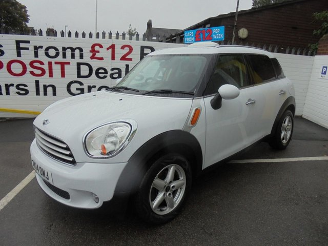 USED 2014 14 MINI COUNTRYMAN 1.6 COOPER D 5d 112 BHP * JUST ARRIVED
