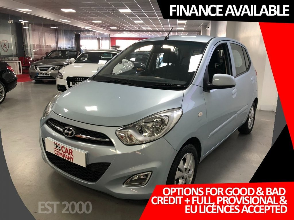 USED 2011 61 HYUNDAI I10 1.2 ACTIVE 5d 85 BHP * ALLOYS * AIR CON  * LOW MILEAGE ONLY 17,141 *