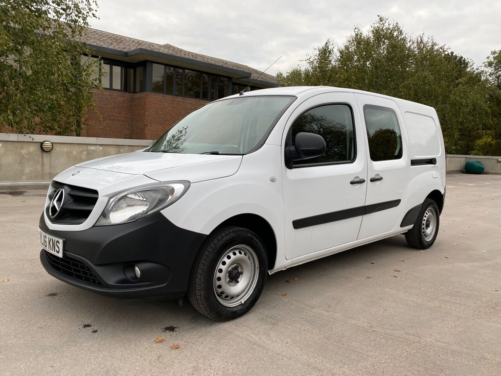 USED 2016 16 MERCEDES-BENZ CITAN 109 FACTORY DUALINER 1.5CDi 90ps LWB 5 SEATS *E/PACK*2xSLD* 5 SEAT CREW-SIDE WINDOWS-E/P