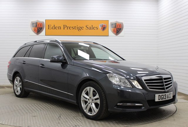 USED 2013 13 MERCEDES-BENZ E-CLASS 2.1 E220 CDI BLUEEFFICIENCY S/S AVANTGARDE 5d 170 BHP