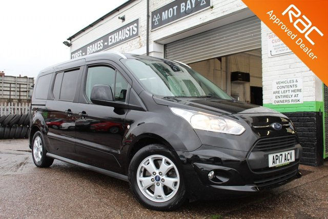 USED 2017 17 FORD GRAND TOURNEO CONNECT 1.5 TITANIUM TDCI 5d 118 BHP VIEW AND RESERVE ONLINE OR CALL 01527-853940 FOR MORE INFO.