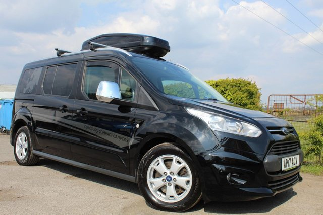 USED 2017 17 FORD GRAND TOURNEO CONNECT 1.5 TITANIUM TDCI 5d 118 BHP 2 BERTH COMPACT CAMPER VIEW AND RESERVE ONLINE OR CALL 01527-853940 FOR MORE INFO.