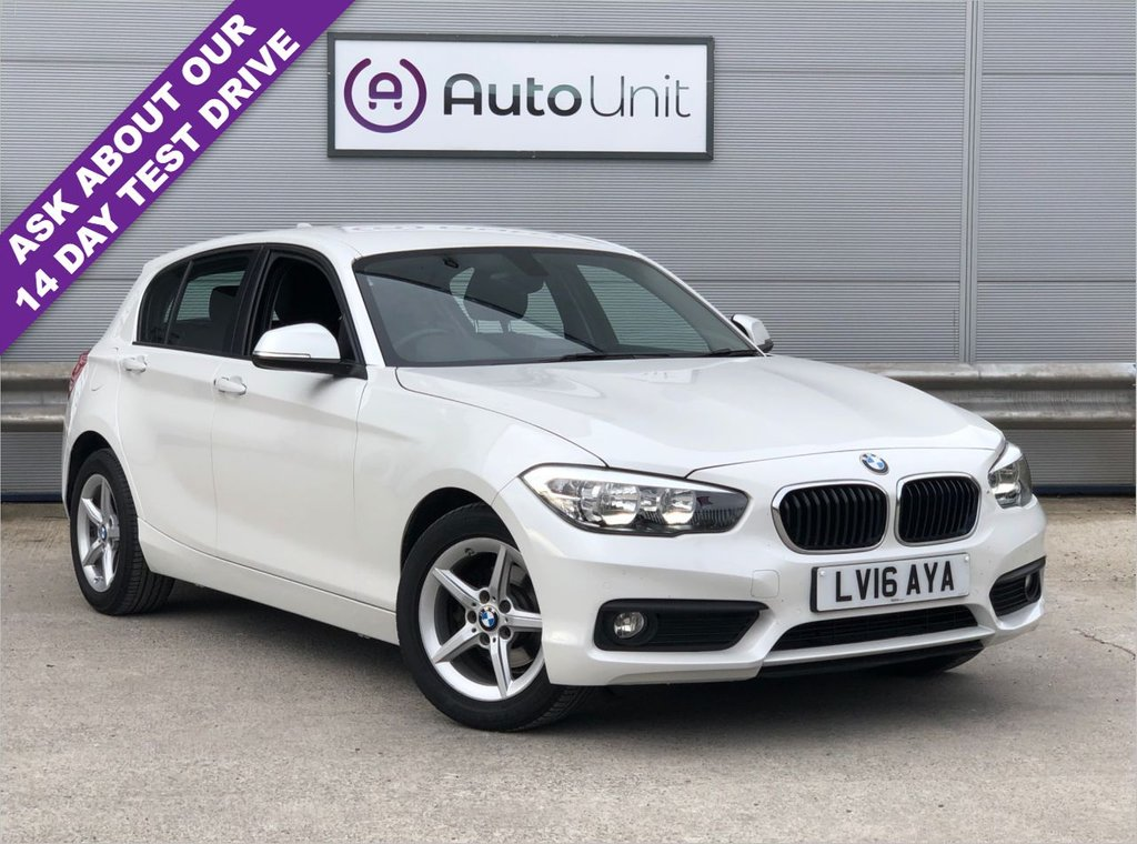 USED 2016 16 BMW 1 SERIES 1.5 116D SE 5d 114 BHP - FULL SERVICE HISTORY FULL SERVICE HISTORY + SAT NAV + DAB + BLUETOOTH + HEATED SEATS + FRONT AND REAR OPTICAL SENSORS