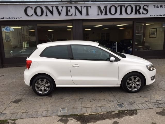 USED 2012 61 VOLKSWAGEN POLO 1.2 MATCH 3d 59 BHP