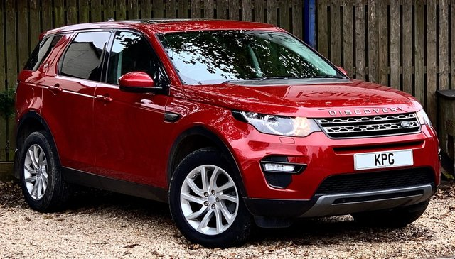 USED 2017 67 LAND ROVER DISCOVERY SPORT 2.0 TD4 SE Tech Auto 4WD (s/s) 5dr 7 Seat Pan Roof, Privacy, F/LR/S/H