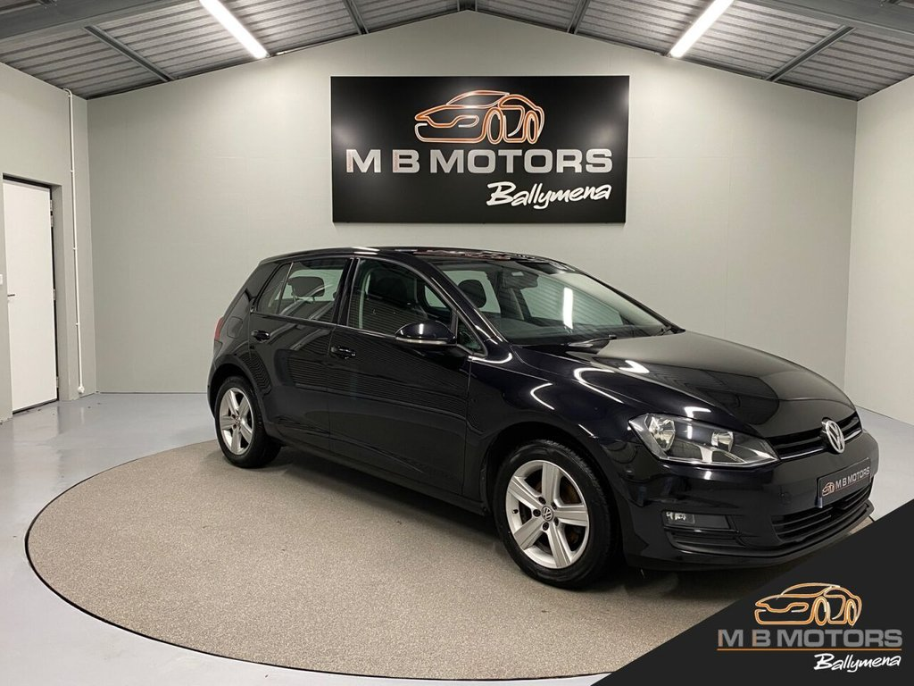 USED 2015 VOLKSWAGEN GOLF MATCH 1.6TDI BLUEMOTION TECHNOLOGY 5d 103 BHP