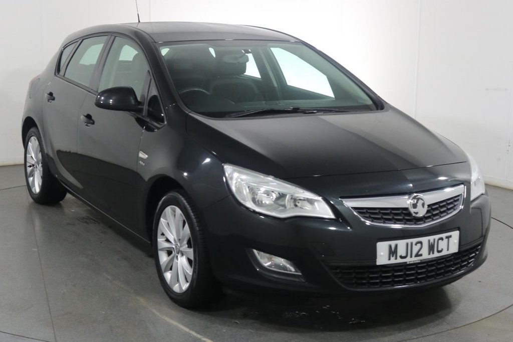 USED 2012 12 VAUXHALL ASTRA 1.4 ACTIVE 5d 98 BHP 2 OWNERS with 7 Stamp SERVICE HISTORY