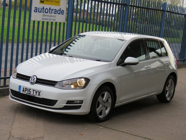 USED 2015 15 VOLKSWAGEN GOLF 1.6 MATCH TDI BLUEMOTION TECHNOLOGY 5dr 103 DAB Cruise Bluetooth & audio Park sensors Low Miles Diesel ,£0 Road tax