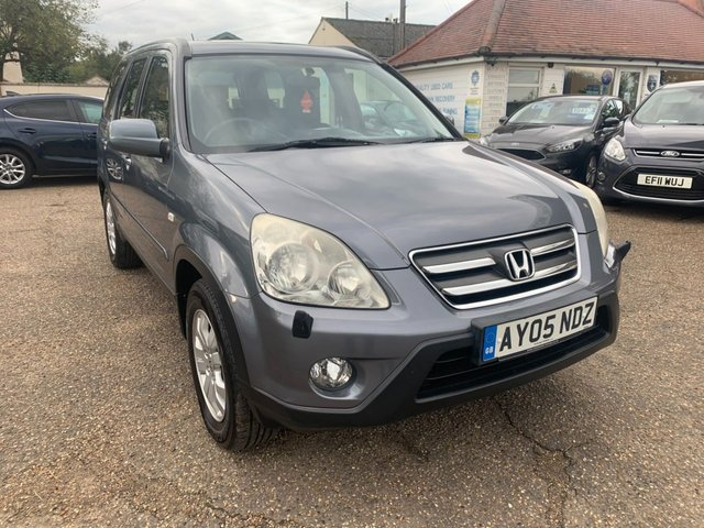 USED 2005 05 HONDA CR-V 2.2 I-CTDI SPORT 5d 138 BHP EXCELLENT SESRVICE HISTORY WITH 9 STAMPS IN THE BOOK