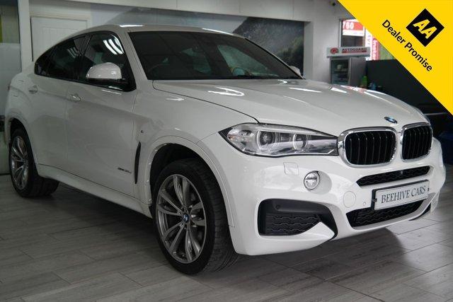 USED 2015 65 BMW X6 3.0 XDRIVE30D M SPORT 4d 255 BHP