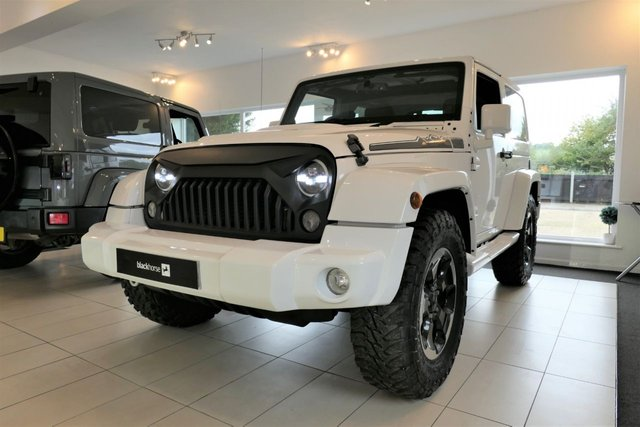 2014 14 JEEP WRANGLER 2.8 CRD OVERLAND 2d POLAR Edition. RESERVED FOR PETER.