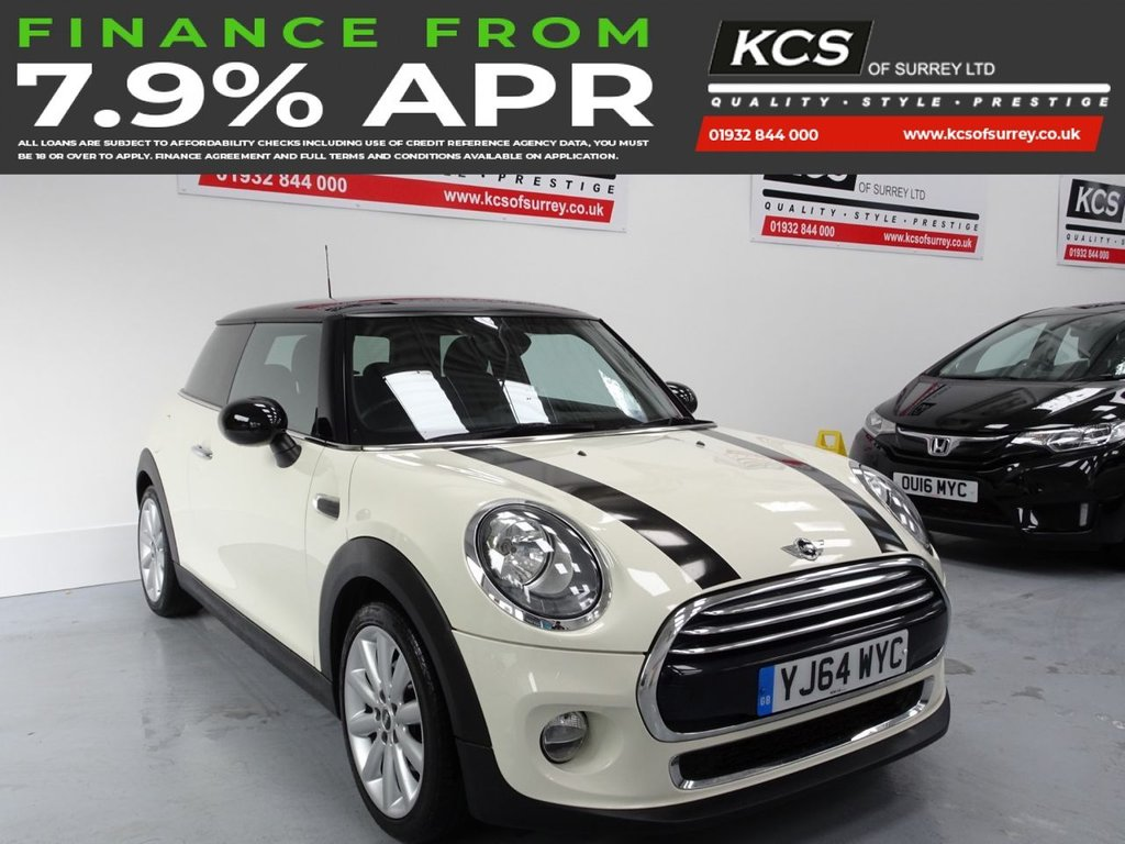 USED 2014 64 MINI HATCH COOPER 1.5 COOPER 3d 134 BHP CHILI PACK - HEATED SEATS