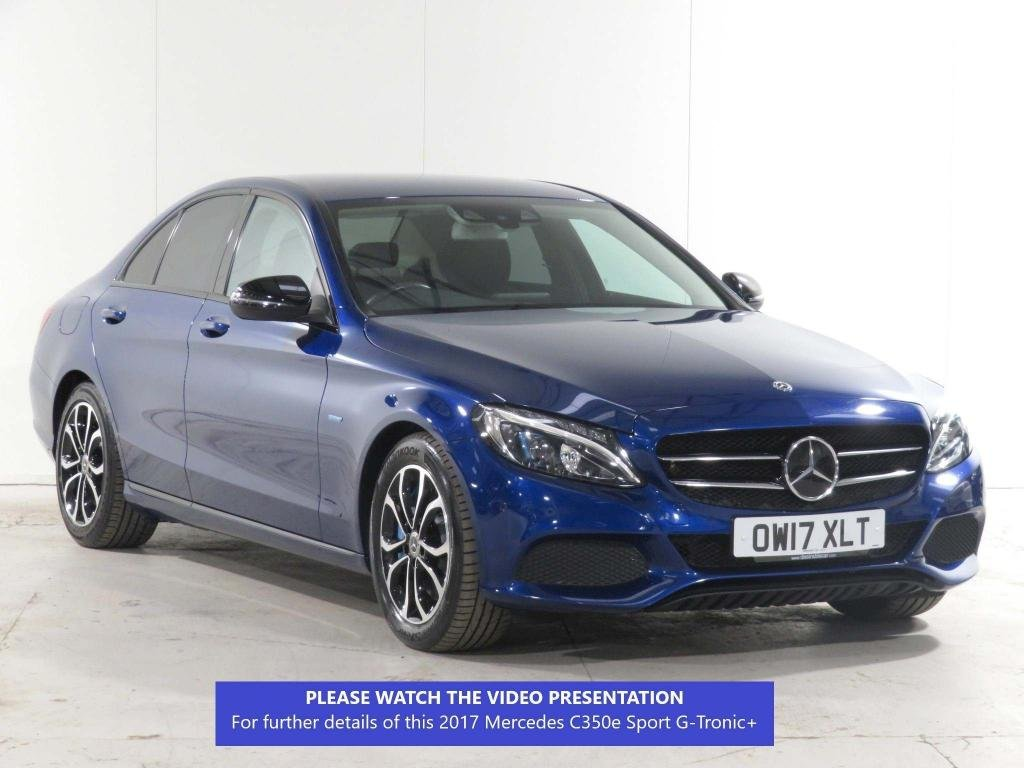 USED 2017 17 MERCEDES-BENZ C-CLASS 2.0 C350e 6.4kWh Sport G-Tronic+ (s/s) 4dr NIGHT+DRIVING  ASSISTANCE PACK