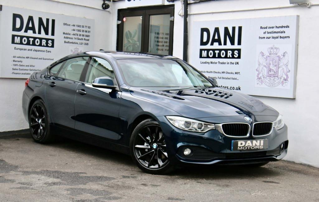 USED 2015 65 BMW 4 SERIES 2.0 420d Sport Gran Coupe (s/s) 5dr 1 OWNER*BIG SATNAV*PARKING AID