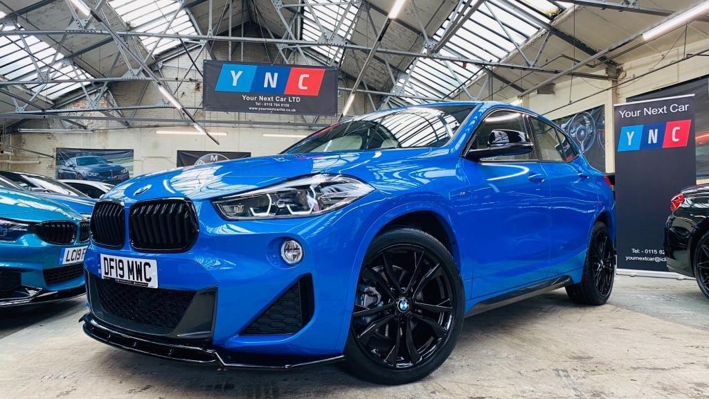 USED 2019 19 BMW X2 1.5 18i M Sport DCT sDrive (s/s) 5dr PERFORMANCEKIT+19S+BMWWARRANTY