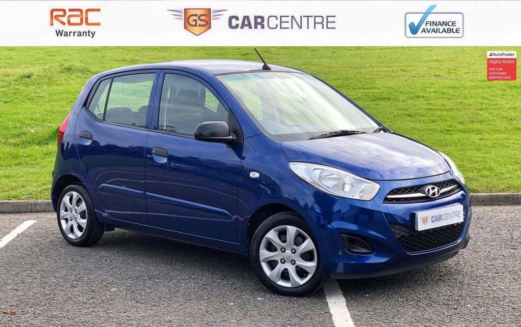 USED 2011 61 HYUNDAI I10 1.2 Classic 5dr £20 Tax + 2 Owners + 61.4 MPG
