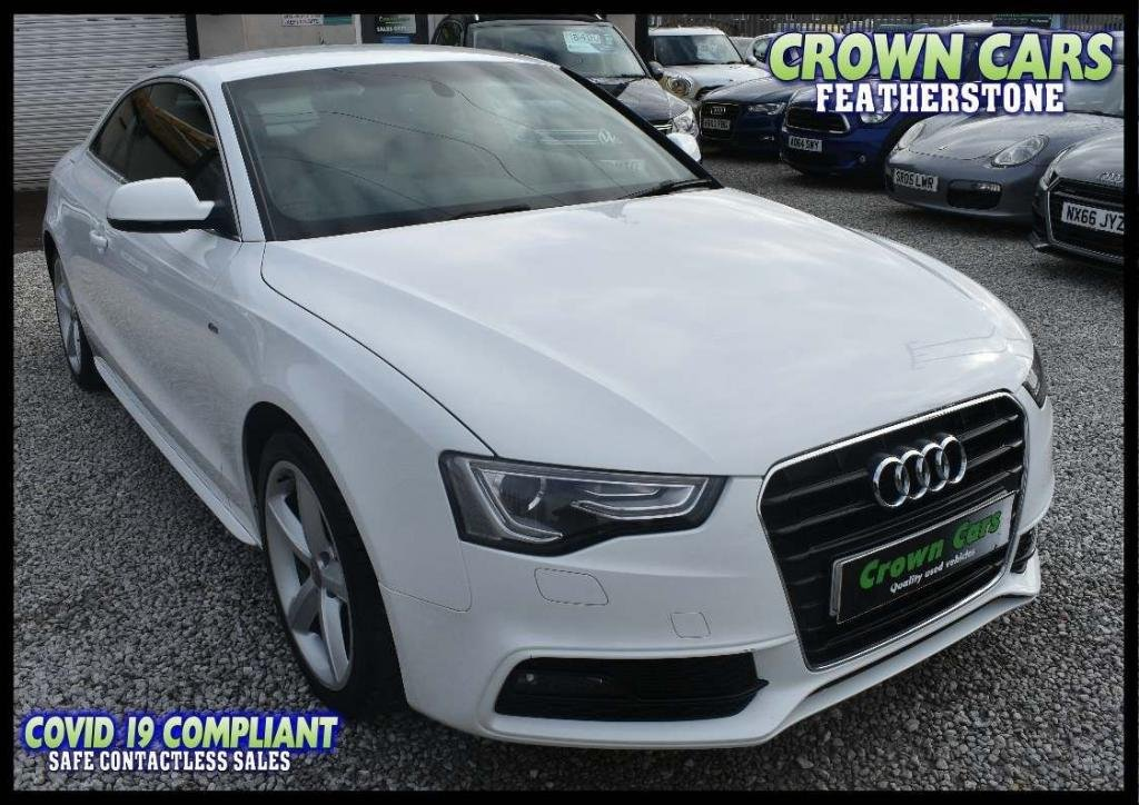 USED 2012 12 AUDI A5 2.0 TDI S line 2dr AMAZING LOW RATE FINANCE DEALS