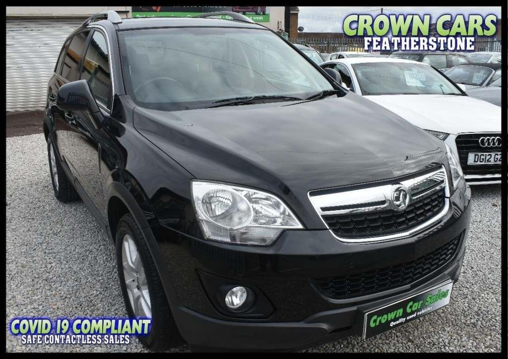 USED 2013 13 VAUXHALL ANTARA 2.2 CDTi Exclusiv AWD 5dr FREE FINANCE ELIGIBILITY CHECK