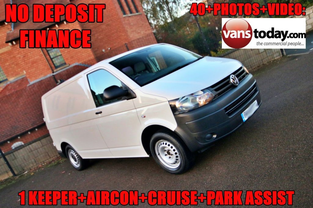 USED 2015 15 VOLKSWAGEN TRANSPORTER 2.0 T30 TDI P/V STARTLINE BMT 113 BHP + AIR CON  NO DEPOSIT FINANCE + AIR CON + 1 KEEPER