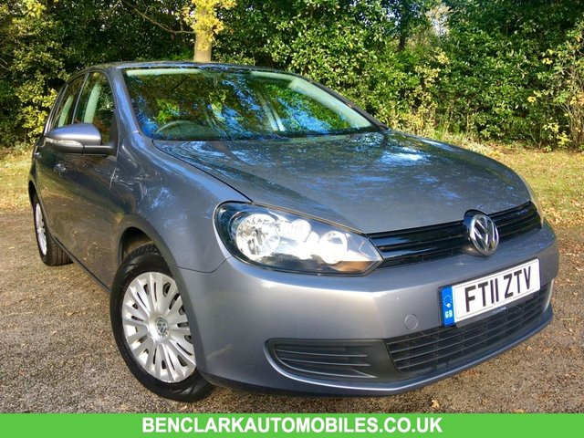 2011 11 VOLKSWAGEN GOLF 1.2 S TSI 5d 103 BHP 2 OWNERS / 49,980 MILES / PARROT HANDSFREE/ GOOD HISTORY --JUST SERVICED BY US