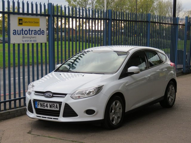 USED 2014 64 FORD FOCUS 1.6 EDGE 5dr 104 Ulez Compliant, Air conditioning Electric windows Service history Finance arranged Part exchange available Open 7 days ULEX Compliant