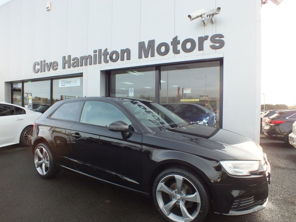 USED 2017 66 AUDI A3 1.6 TDI SE TECHNIK 3d 109 BHP SATELLITE NAVIGATION, FREE ROAD TAX
