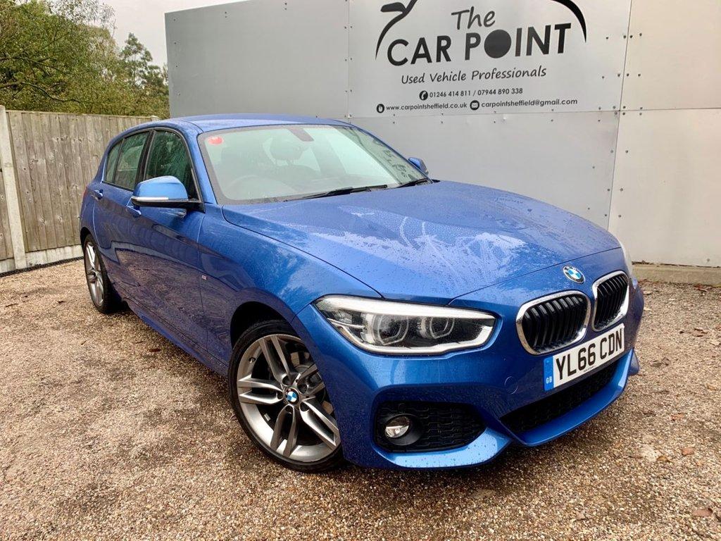 USED 2016 66 BMW 1 SERIES 2.0 118D M SPORT 5d AUTO 147 BHP