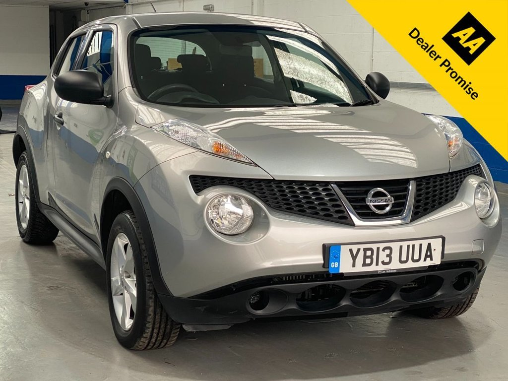 USED 2013 13 NISSAN JUKE 1.5 VISIA DCI 5d 110 BHP **JUST BEEN FULLY SERVICED**