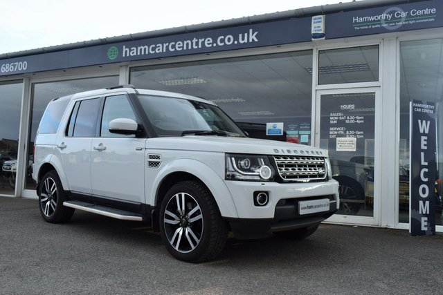 2014 63 LAND ROVER DISCOVERY 4 3.0 SDV6 HSE LUXURY 5d 255 BHP
