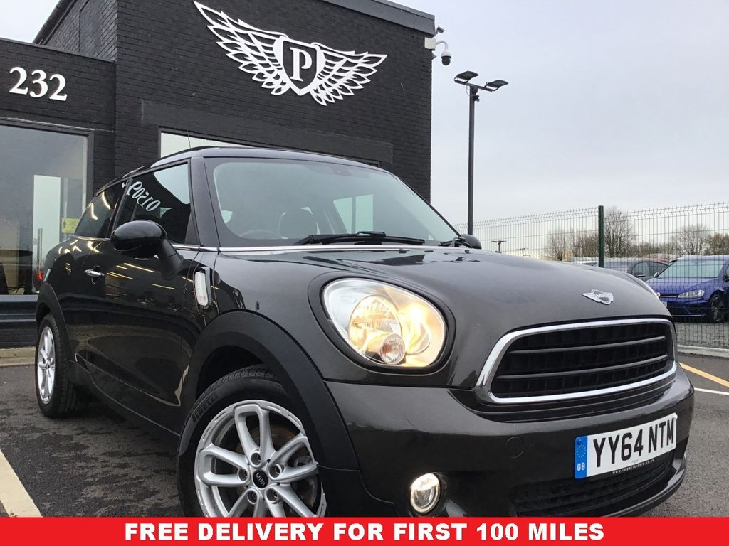 USED 2014 64 MINI PACEMAN 1.6 COOPER 3d 122 BHP WARRANTY,  MOT AND SERVICE INC