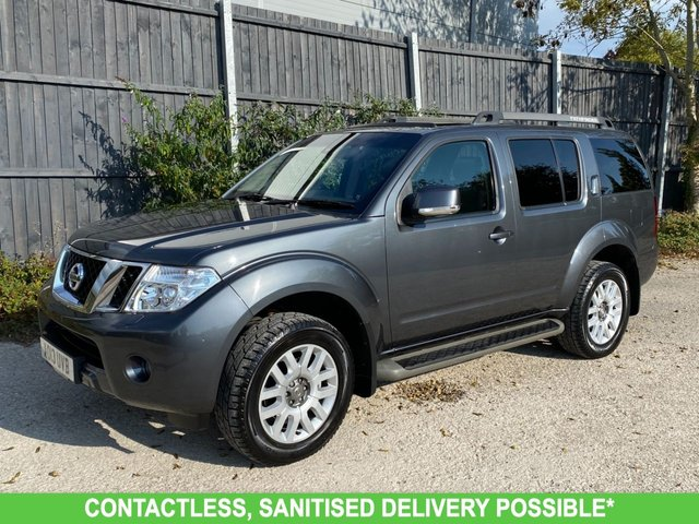 USED 2013 13 NISSAN PATHFINDER 2.5 DCI TEKNA 5d 188 BHP 4WD 4X4 MANY EXTRAS FINANCE ME TODAY-UK DELIVERY POSSIBLE