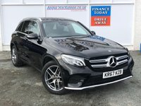 USED 2017 67 MERCEDES-BENZ GLC-CLASS 2.1 GLC 220 D 4MATIC AMG LINE 5d Family SUV AUTO Stunning in Black with Great High Spec.Recent Service plus MOT 2 New Tyres New Brakes New Wipers  now Ready to Finance and Drive Away Today Luxurious family SUV