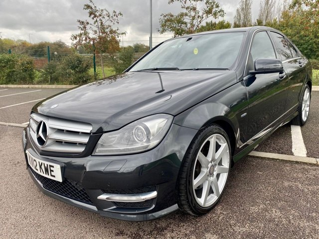 2012 12 MERCEDES-BENZ C-CLASS 3.0 C350 CDI BLUEEFFICIENCY SPORT 4d 265 BHP