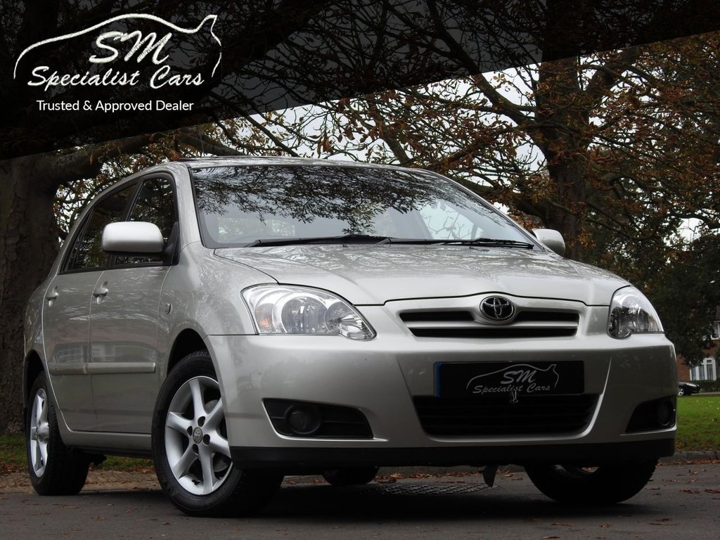 USED 2005 55 TOYOTA COROLLA 1.6 T SPIRIT VVT-I 5d 109 BHP ONLY 33K FROM NEW FTSH A/C VGC