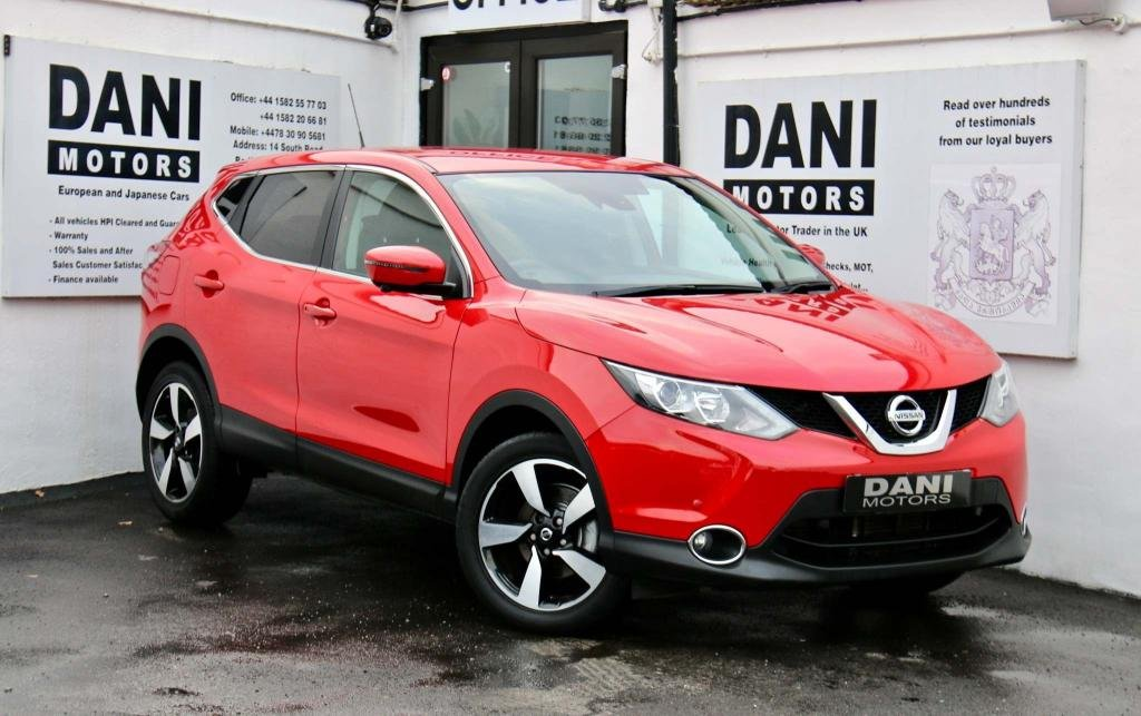 USED 2016 66 NISSAN QASHQAI 1.2 DIG-T N-Connecta Xtronic CVT 5dr 1 OWNER*SATNAV*PARKING AID