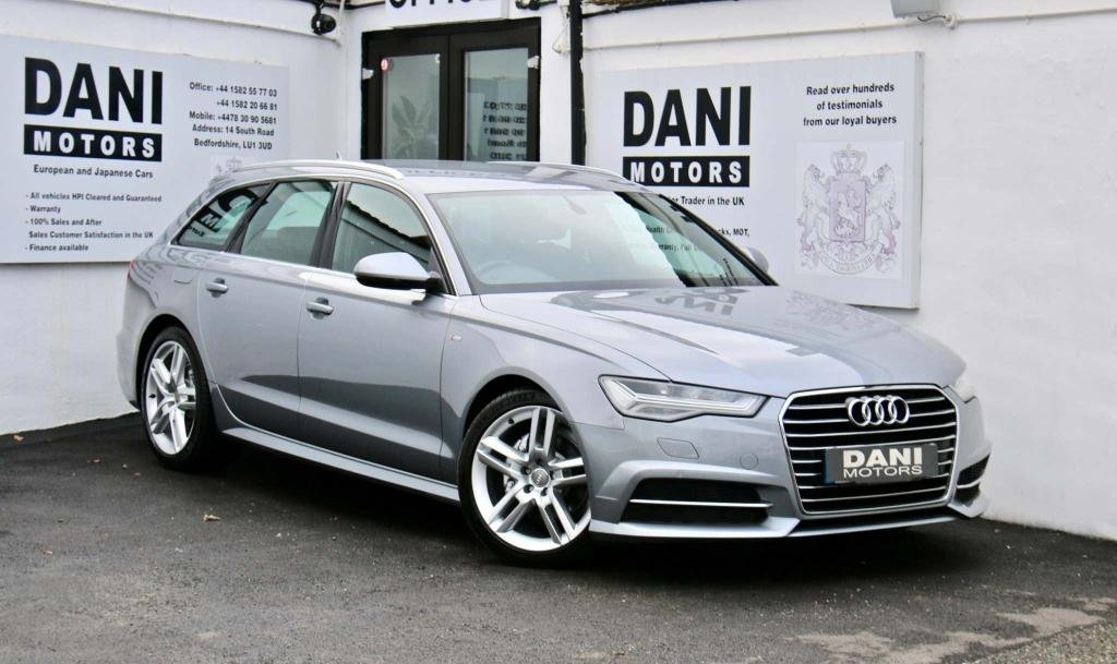USED 2015 15 AUDI A6 2.0 TDI ultra S line Avant S Tronic (s/s) 5dr 1 OWNER*SATNAV*PARKING AID