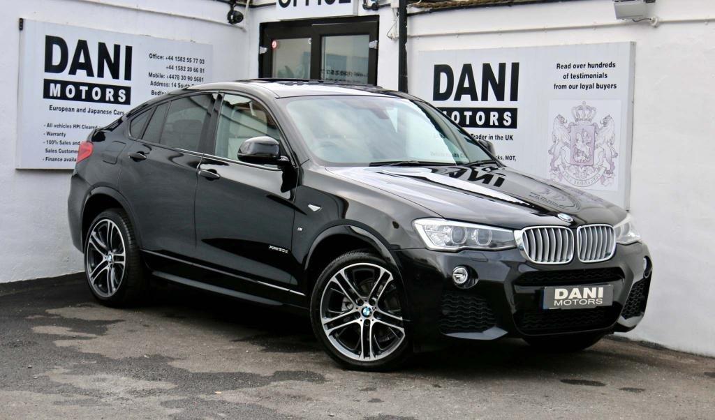 USED 2016 65 BMW X4 3.0 30d M Sport Auto xDrive (s/s) 5dr PAN ROOF*SATNAV*REVERSE CAMERA