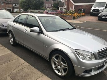 2009 MERCEDES-BENZ C-CLASS 1.6 C180 BlueEFFICIENCY Kompressor Sport 4dr £4995.00