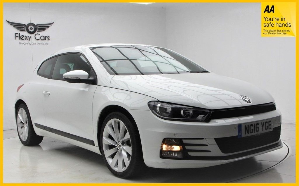 USED 2016 16 VOLKSWAGEN SCIROCCO 2.0 GT TSI BLUEMOTION TECHNOLOGY DSG 2d 178 BHP