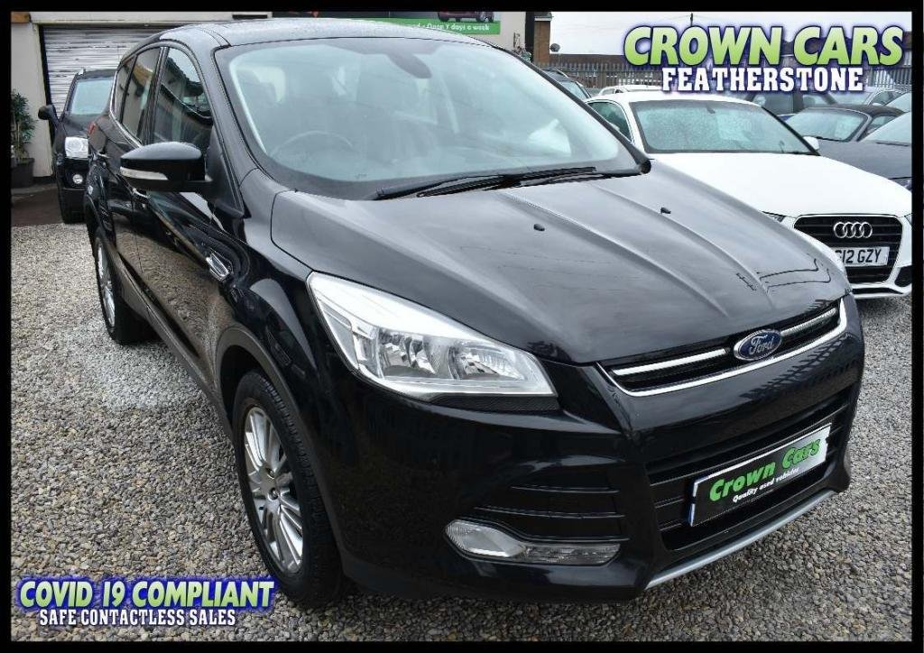 USED 2013 13 FORD KUGA 2.0 TDCi Titanium 5dr AMAZING LOW RATE FINANCE DEALS