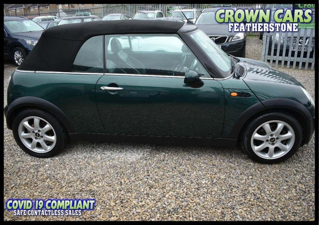 USED 2007 07 MINI CONVERTIBLE 1.6 Cooper (Chili) 2dr PART EXCHANGE TO CLEAR