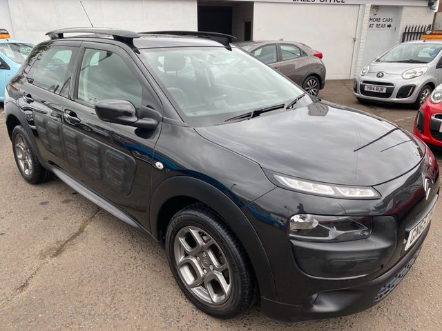 USED 2015 65 CITROEN C4 CACTUS 1.6 BLUEHDI FEEL 5d 98 BHP